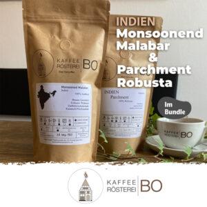 Bundle Indien Monsooned Malabar und Parchment