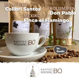 Bundle Lateinamerika - Barsilien Colibri Santos | Kolumbien Don Pablo | Mexico Finca el Flamingo