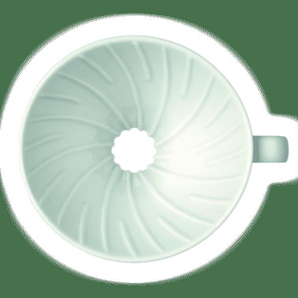 Hario Coffee Dripper V60 02 Ceramic white 02