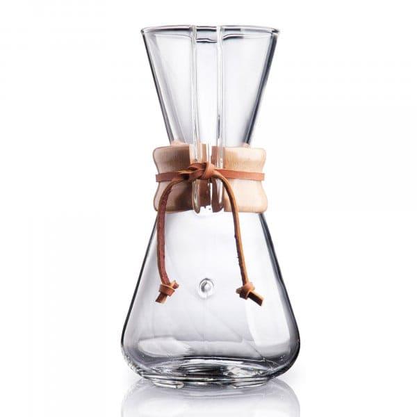Chemex - Kaffeekaraffe für 1-3 Tassen - Frontansicht